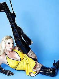 Pvc, Latex, Boots, Leather, Mature boots, Mature leather