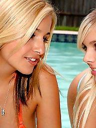 Pool, Lesbians, Teen lesbians, Pools, Lesbian teens