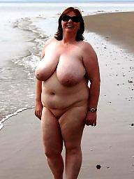 Bbw beach, Beach, Mature beach