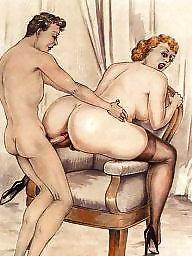 Vintage mature, Art, Mature porn, Vintage porn, Mature asses