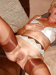 Mature stockings, Old, Old mature, Mature young