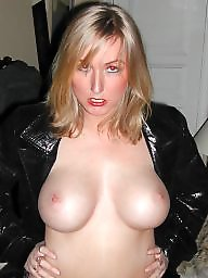 Blonde milf, Mom, Bitch