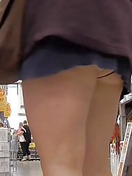 Shop, Flash, Shopping, Voyeur, Upskirt panty, Upskirt flashing