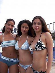 Teen bikini, Amateur bikini