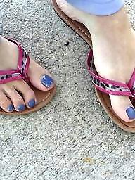 Feet, Mature feet, Voyeur mature