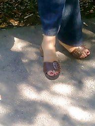Feet, Milf feet, Candid