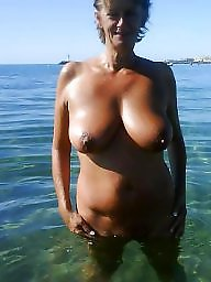 Nudist, Nudists, Mature nudist, Mature big tits, Mature wife, Big mature