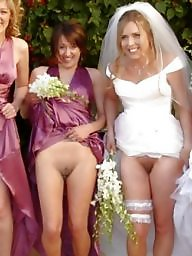 Dress, Wedding, Upskirt flashing, Dressing, Slut dress