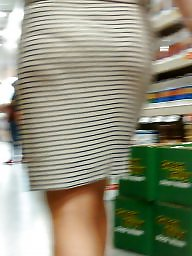 Tight dress, Dress, Candid, Sexy dress, Tight, Amateur milf