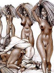 Ebony milf, Slave, Slaves, Black milf, Ebony milfs