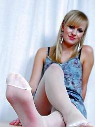 Nylon feet, Nylon, Feet, Feet nylon, Stocking feet, Stocking