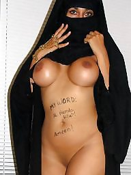 Flash, Babe, Flash hijab, Sexy hijab, Sexy slut, Flashing boobs