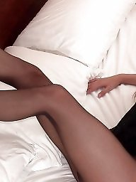 Stockings, Long legs, Lady, Leg