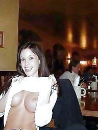 Voyeur, Public nudity, Public flashing