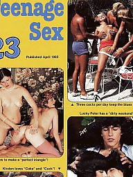 Magazine, Blowjobs, Teenage, Vintage hairy, Magazines, Vintage sex