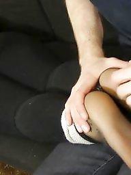 Nylon feet, Nylon, Feet, Stocking feet, Nylons, Sweaty