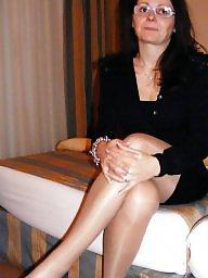 Stockings, Wife, Stocking, Mature, Milf stockings, Wife stockings