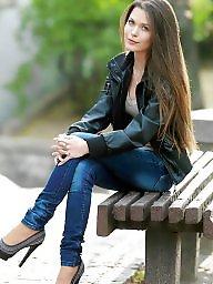 Heels, Jeans