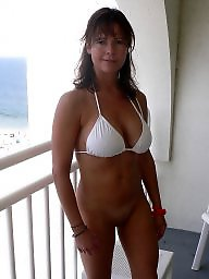 Mature, Mature boobs, Holiday, Mature boob