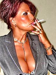 Smoking, Fetish, Smoking fetish, Mature smoking