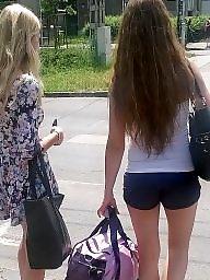 Street, Public slut, Public voyeur, Amateur public