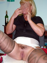 Mature spreading, Spreading, Spread, Mature spread, Matures, Mature stockings