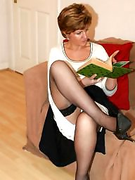 Stockings, Uk mature, Hot mature, Amateur matures