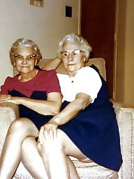 Grannies, Nylon, Nylons, Nylon granny, Granny nylon, Granny nylons