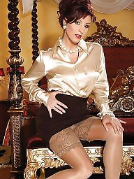 Satin, Blouse, Satin blouse