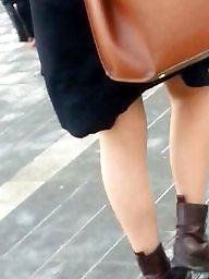 Skirt, Mini skirt, Spy, Romanian, Spy cam
