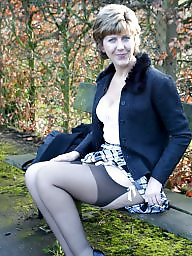 Uk mature, Mature stockings