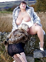 Fat, Fat mature, Lady, Chubby mature, Mature flash, Mature chubby