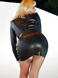 Leather, Milf, Latex, Pvc, Rubber, Mature leather