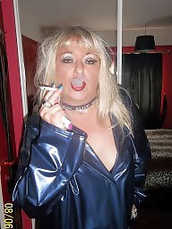 Smoking, Smoke, Fingering, Blonde milf, Play, Finger