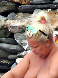 Nude beach, Bbw beach, Bbw nude