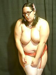Chubby, Bbw stockings, Posing