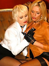 Smoking, Latex, Smoke, Nylon, Nylons milf, Milf lesbian