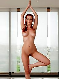 Mature redhead, Yoga, Redhead mature, Nude mature, Mature nude