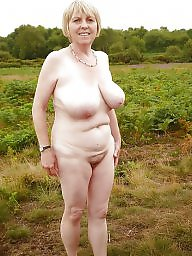 Nudist, Older, Mature beach, Mature nudist