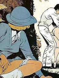 Drawings, Drawing, Vintage cartoons, Erotic, Draw