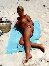 Beach, Mature beach, Lady, Beach mature, Mature lady, Mature amateurs