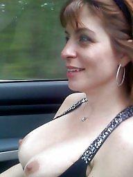 Car, Mature boobs, Mature car, Mature women, Cars, Mature boob