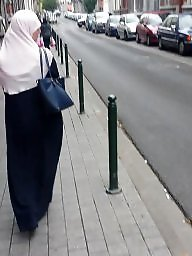 Hijab ass, Street, Amateur ass, Amateur stockings, Ass hijab