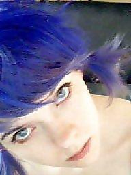 Hair, Blue