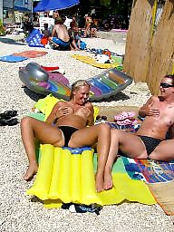 Topless, Nude beach, Beach topless
