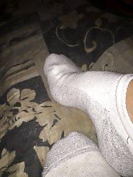 Socks, Sock, Milf feet, Friend