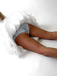 Stockings, Upskirt stockings, Upskirts, Slips