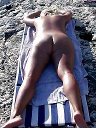 Big pussy, Nude, Butt, Beach, Big butts, Big butt