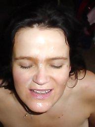 Amateur facials, Facials, Milf facial
