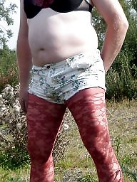 Tights, Red, Lace, Short, Tight, Shorts